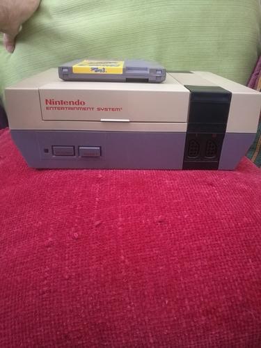 Nintendo Nes Con Super Mario Bros 3 Sin Cargador Adaptador