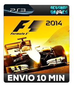 Formula 1 2014 - F1 14 - Código Psn Ps3 - Envio Automático