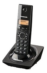 Panasonic Teléfono Kx-tg1711meb, Inalámbrico, Negro