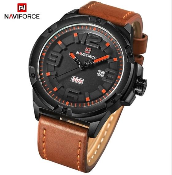 Relógio Masculino Naviforce 9100 Pulso Prova D