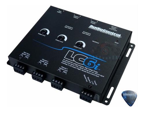 Imagen 1 de 7 de Convertidor Alta Baja Audiocontrol Estereo Agencia Lc6i Hi L