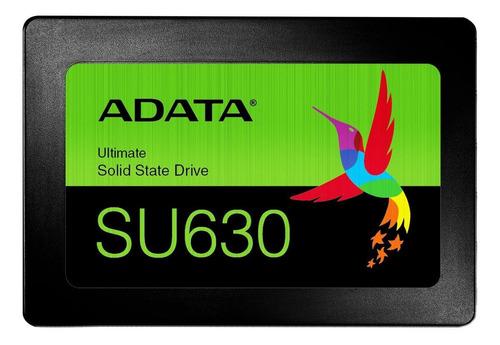 Imagen 1 de 3 de Disco sólido SSD interno Adata Ultimate SU630 ASU630SS-480GQ-R 480GB