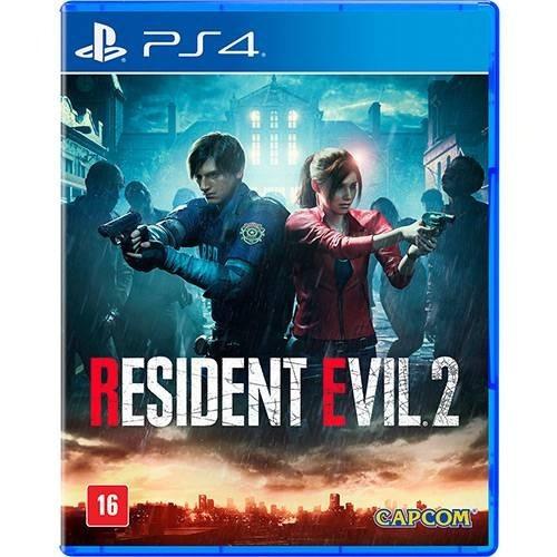 Resident Evil 2 - Ps4 Mídia Física