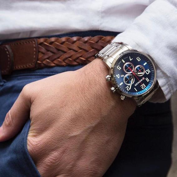 Relógio Wenger Attitude Chrono Azul 01.1543.101