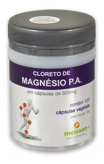 Cloreto De Magnésio P.a.120 Cápsulas 500mg