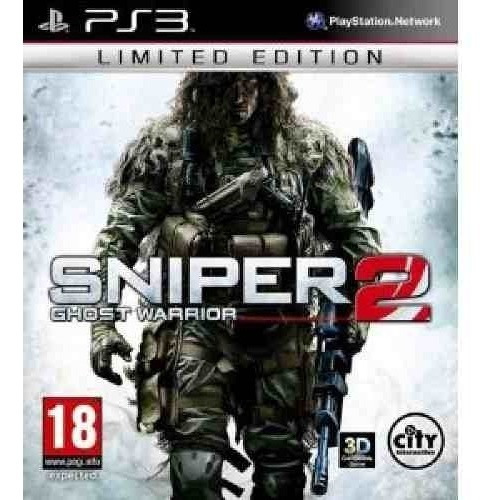 Jogo Fisico Atirador Sniper Ghost Warrior 2 Playstation Ps3
