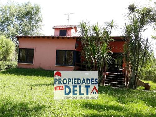 Casa En Venta Zona Norte Jardin Nautico Escobar Con Acceso Al Predio Cerrado Por Tierra Y Agua