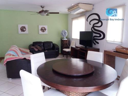 Imagem 1 de 25 de Casa Com 3 Dormitórios À Venda, 135 M² Por R$ 750.000,00 - Praia Da Enseada - Guarujá/sp - Ca1752