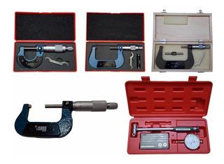 Alesametro De 50-160mm Y Micrometros Ext De 25-100mm Isard