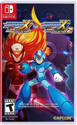 Mega Man X Legacy Collection 1+2 - Switch - Midia Fisica!