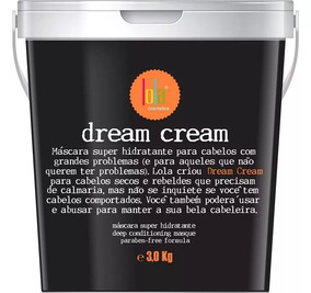 Lola Cosmetics Dream Cream Máscara Super Hidratante 3 Kg
