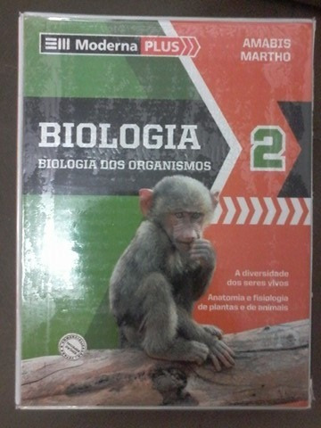 Livro De Biologia, Moderna Plus- Volume 2