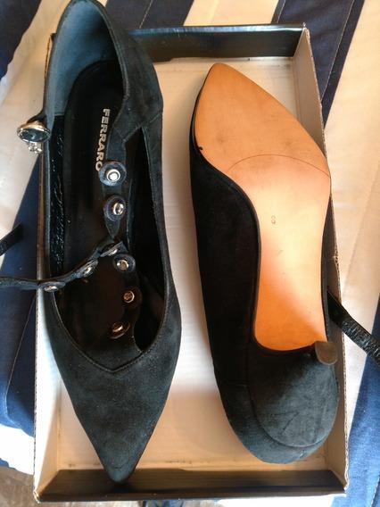 Zapatos Ferraro Cuero