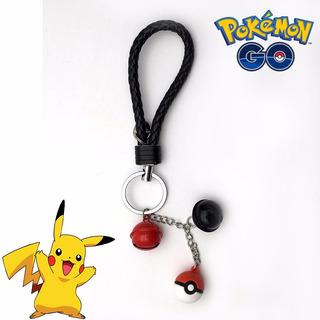 Chaveiro Pokemon Go Pokebola E Sinos Personalizado
