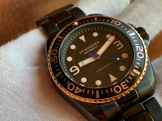 Relógio Spinnaker Plunge Automatic Diver 200m Sp-5040-44