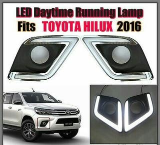 Daylights Exploradoras Bicolor Toyota Hilux Revo Nuevas.!