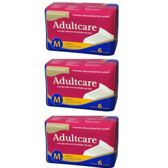 Adultcare Protetor Descartável De Colchão M C/6 (kit C/03)
