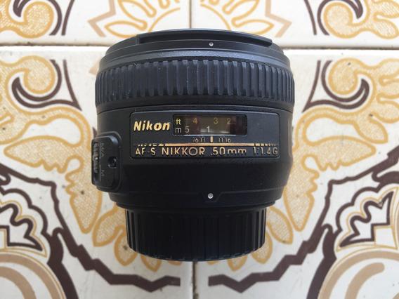 Lente Nikon 50 1.4 - Full Frame