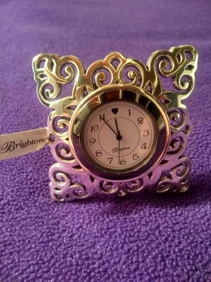 Reloj Brighton Tono Plateado Geneva G20100 Sz