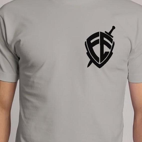 Camiseta Escudo Da Fé Evangélico Cristão Jesus