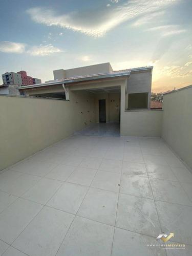 Cobertura Com 2 Dormitórios À Venda, 100 M² Por R$ 380.000,00 - Vila Alzira - Santo André/sp - Co0707