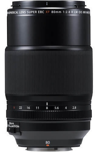 Lente Fujifilm Xf 80mm F/2.8 R Lm Ois Wr Macro