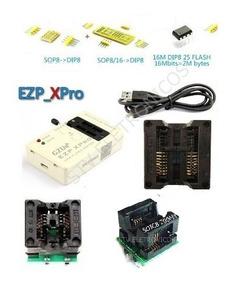 Gravador Ezp Xpro V2 Eprom Spi Flash Otp 24, 25,93e95 Gzut