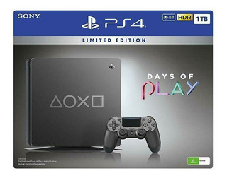 Playstation 4 Ps4 Edicion Limitada Days Of Play Con Juegos