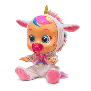 Cry Babies Unicornio Muñeca Cry Babies Dreamy Unicorn Doll