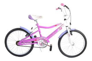 Hermosa Bicicleta De Niña Musetta Fantasy Rodado 20