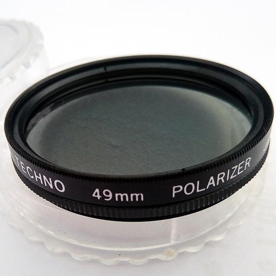 Filtro Pro Polarizador Circular Cpl 49mm Canon, Nikon, Sony