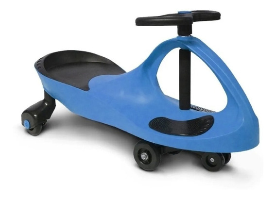 Carrinho Gira Gira Car Infantil Azul Certificado Inmetro
