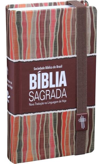 Bíblia Sagrada Carteira Capa Dura C/elástico Ntlh.
