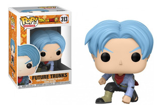 Funko Pop Dragon Ball Trunks Del Futuro 313 Original Nuevo