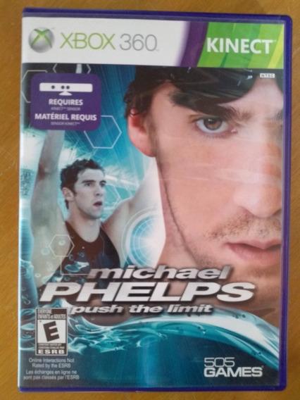 Jogo Michael Phelps Push The Limit Xbox360 Ntsc Em Dvd Origi