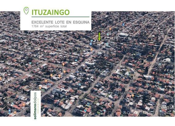Terreno En Esquina - 1764 M2 De Superficie - Ituzaingó