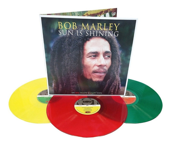 Bob Marley - Sun Is Shining [coloured 3lp] Gatefold Vinyl