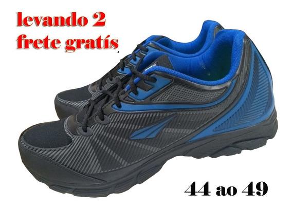 Tênis Tamanho Especial 44 Ao 49 - Plus Size