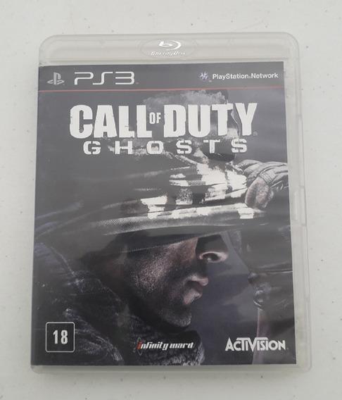 Jogo Call Of Duty Ghosts - Ps3 - Mídia Física - Original