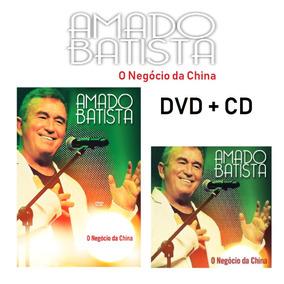 Amado Batista Dvd + Cd O Negócio Da China Novo Frete Gratis