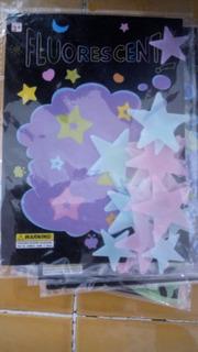 Estrellas Modelos Diversos Fluorescentes Fosforecentes
