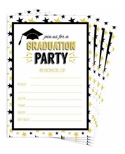 Invitacion Graduacion Preparatoria Invitaciones Y Tarjetas