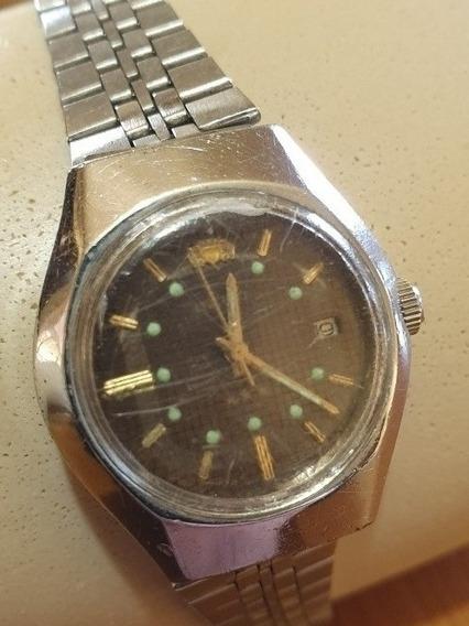 Relógio Orient Automático Ouro 3 Estrelas Japonês .obc Store