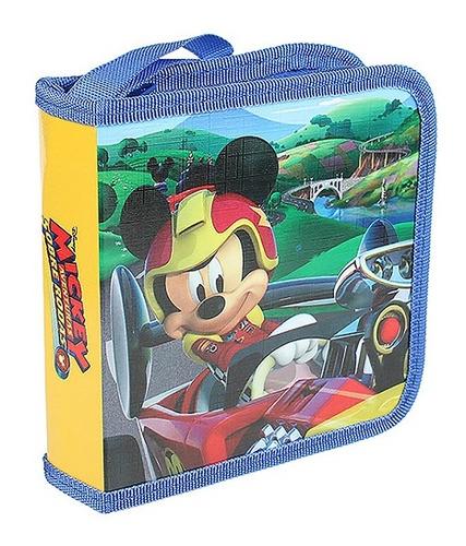 Imagem 1 de 1 de Porta Cd Disney Mickey Mouse Amarelo