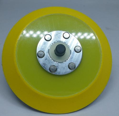 Imagen 1 de 3 de 3d Backing Plate P/maquinas Roto-orbitales 5.5 Highgloss Ros