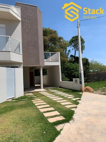 Casa Nova À Venda No Condomínio Villagio Di San Francesco, Bairro Medeiros Em Jundiaí. Sobrado Com 130 M² De Construção Sendo 3 Quartos, Sendo 1 Suíte - Ca01368