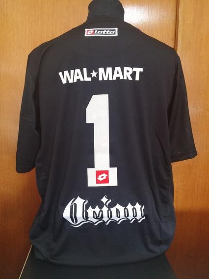 Camiseta San Lorenzo Negra Lotto 2008 Buzo Arquero 1 Orion