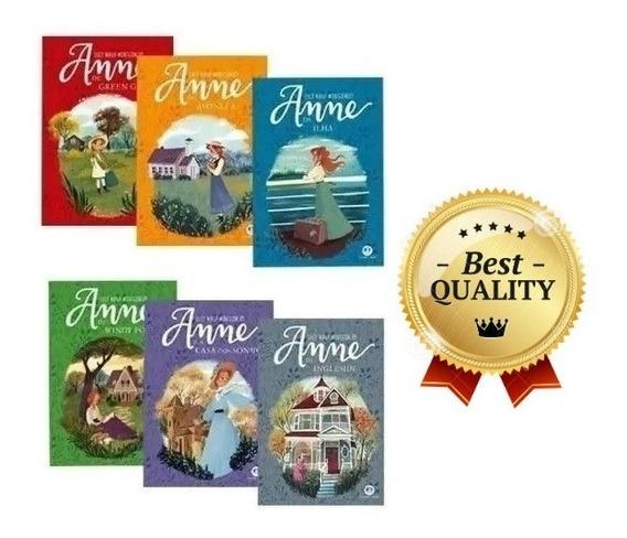 Kit Coleção 6 Livros - Anne De Green Gables