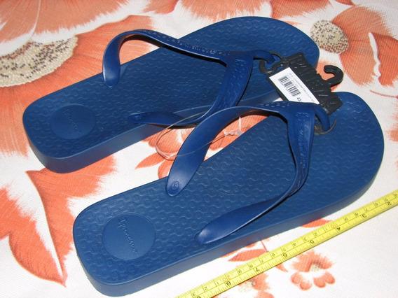 Chinelo Ipanema Anatômica Surf Masculino Cor Azul Marinho !