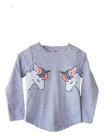 Polera Unicornio Niña